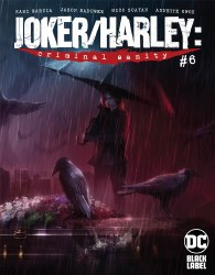 JOKER HARLEY CRIMINAL SANITY #6 (OF 8) COVER A FRANCESCO MATTINA MAIN COVER
