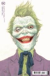 Joker Vol 2 #1 Cover B Variant Frank Quitely Cover