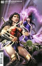 Justice League Dark #20 Cover B Clayton Crain Variant Cover CBCS Signature Series 9.8 Double Signature James Tynion IV & Clayton Crain
