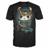 Loki Funko T-Shirt Style #1 Size MEDIUM