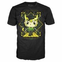 Loki Funko T-Shirt Style #2 Size SMALL