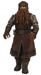 Lord Of The Rings Series 1 Gimli Action Figure (Sauron BAF Series)