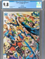 Legion Of Super-Heroes Vol 8 #1 LCSD Bryan Hitch Variant Cover CGC 9.8