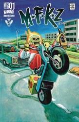 MFKZ #1 Cover D Variant Vinz Diesel Cover