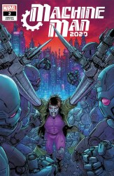 2020 Machine Man #2 (of 2) Cover B Variant Juan Jose Ryp Cover