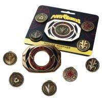 Power Rangers Master Morpher Pin Set
