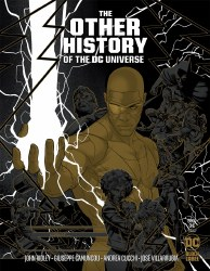 The  Other History Of The DC Universe #1 Cover C 1:25 Incentive Jamal Campbell Gold Metallic Ink Cover