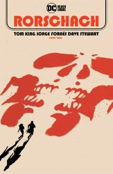 RORSCHACH #2 (OF 12) COVER A JORGE FORNES MAIN COVER
