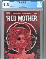 Red Mother #1 4th Print Danny Luckert Variant CGC 9.4