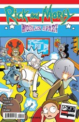 Rick And Morty Worlds Apart #4 Cover A Regular Tony Fleecs Cover