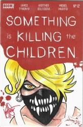 Something Is Killing Children #12 Dynamic Forces Ken Haeser Sketch Cover