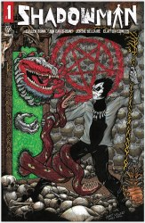 Shadowman Vol 6 #1 Cover M Cary Vallery Circle City Comics Exclusive Trade Dress Variant