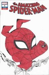 Amazing Spider-Man #1 Dynamci Forces Edition Katie Hidalgo Spider-Ham Sketch Cover