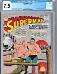 Superman Vol 1 #164 (10/1963) CGC 7.50