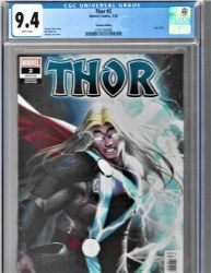 Thor #2 1:25 InHyuk Lee Ratio Incentive Variant CGC 9.4