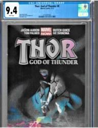 Thor God Of Thunder #6 CGC 9.4