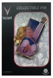 Valiant Comics Heroes Faith Watercolor Enamel Pin