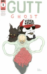 Gutt Ghost Trouble With The Sawbuck Skeleton Society One Shot Cover B Variant Glow-In-The-Dark Cover