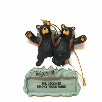 Bearfoots Bears The Summit - Mt. LeConte Smoky Mountains Ornament