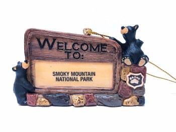 Bearfoots Bears Welcome to SMNP Sign