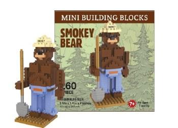 Smokey Bear Mini Building Blocks