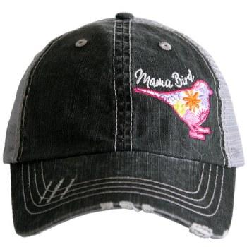 Mama Bird Side Panel Trucker Cap