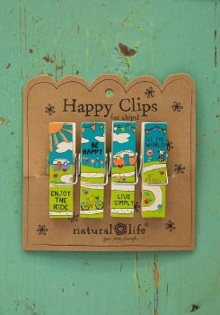 Campers & Bikes Happy Chip Clips