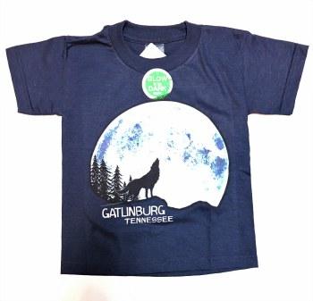 Boy's Glow in the Dark Wolf Moon T-Shirt
