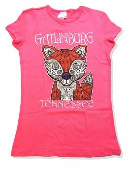 Girl's Paisley Fox T-Shirt