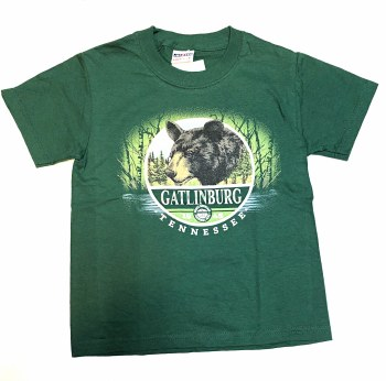 Boys' Willow Bear T-Shirt - Gatlinburg