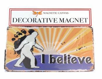Bigfoot 'I Believe' Sunshine Magnet