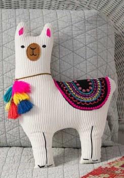 Llama Happy Pillow
