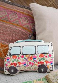Van Happy Pillow