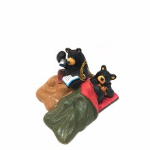 Bearfoots Bears Camp Out Ornament
