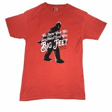 Men's Duck Co 'Big Feet' Shirt Sleeve T-Shirt