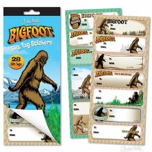 Bigfoot Gift Tags