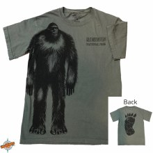 Bigfoot Tracks T-Shirt