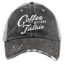 Coffee Before Talkie Trucker Cap