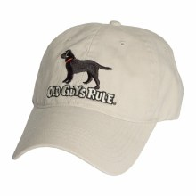 Old Guy's Rule Ready, Willing & Able - Black Lab Cap