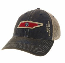 Navy Old Favorite Trucker Hat TN State Tri-Star -GSM