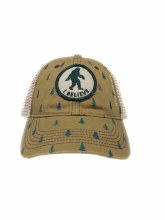 I BELIEVE Bigfoot Pine Tree Cap - Great Smoky Mountains