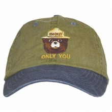 Smokey the Bear ONLY YOU Twill Hat