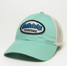 Mint Old Favorite Trucker Hat Script Oval - Gatlinburg
