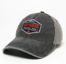 Black & Grey Old Favorite Trucker Hat Smoky Mountain Academy