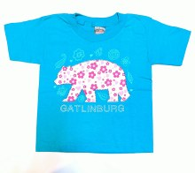Girl's Flower Bear T-Shirt