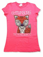Girl's Paisley Fox T-Shirt