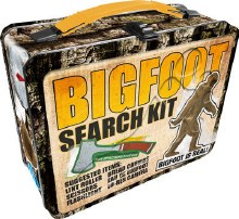 Bigfoot Search Kit Metal Lunchbox