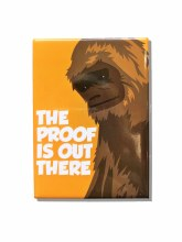 Bigfoot 'The Proof Is Out There' Metal Magnet