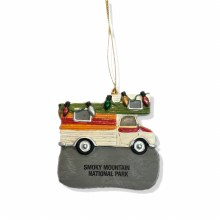 Old School RV w/ Lights Ornament SMNP