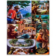 Smokey the Bear Jigsaw Puzzle - 1000 pc